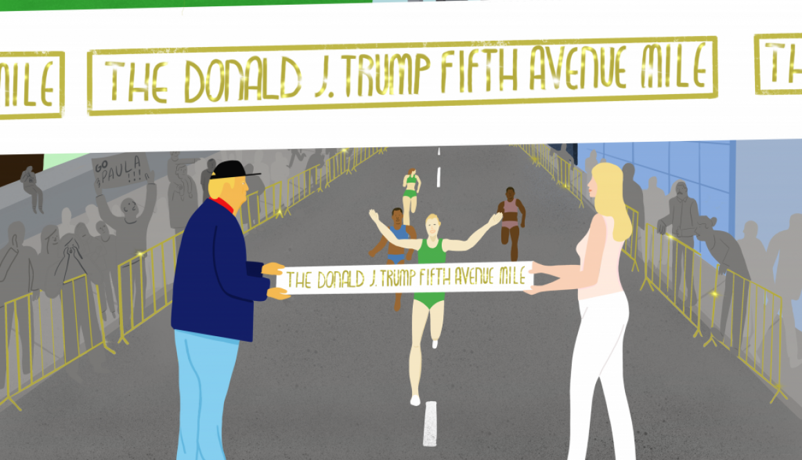 The Donald J Trump Fifth Avenue Mile