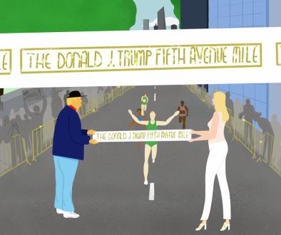 The Donald J Trump Fifth Avenue Mile